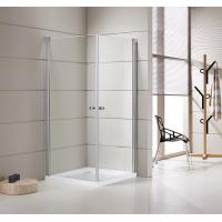 Wholesale Small Bathrooms Square Shower Stalls / Shower Cubicle 5mm Thickness Doors from china suppliers