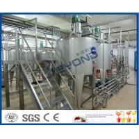 Wholesale Milk Processing Project Dairy Processing Plant With Stainless Steel Fermentation Tanks from china suppliers