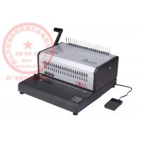 Wholesale Electricty Wire Coil Binding Machine , ISO9001 Manual Comb Binding Machine from china suppliers