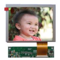 Wholesale 640x480 Lcd Display Panel 250 Luminance , Hd Tft Display 4 / 3 Aspect Ratio from china suppliers