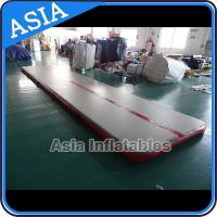 Wholesale Sealed 10mL Gym Inflatable Tumble Air Mattress In Red and Gray from china suppliers