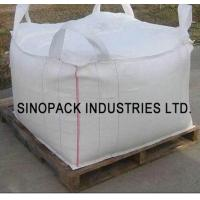 Wholesale Four loops 1000KGS big bag FIBC , soil mineral construction One Ton Bulk Bags from china suppliers