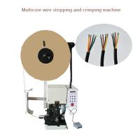 Quality High-speed Mute Wire Stripping And Terminal Crimpping Machines for sale