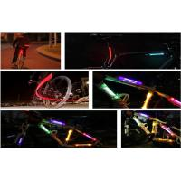 Wholesale Green LED Fiber Safety Warning Stick / Bicycle LED Lights For Motorcycle Portable from china suppliers