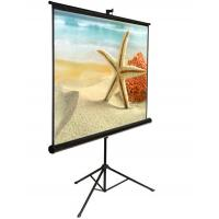 Wholesale Floor Standing portable tripod projection screens With Matter White,  Metal Housing from china suppliers
