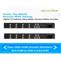Quality All-In-One Device Digital TV Encoder Modulator CVBS SDI ASI Input DVB-C ATSC-T RF Out for sale