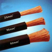 Wholesale Super Flexible TPE EPR Rubber 50mm2 70mm2 Copper/CCA Welding Cable from china suppliers