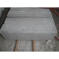 Wholesale top quality of the white grey granite kerbstone from china suppliers