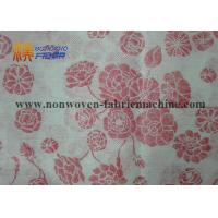 Quality Printed Wood Pulp Non Woven Fabrics For Household / Industrial Cleaning for sale