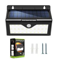 Wholesale Mini PIR Motion Sensor Solar Powered Garden Lights With 28 LED from china suppliers