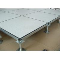Quality Computer Room Flame Retardant  Raised Floor Tiles Soft Light 60×60×3.5cm for sale