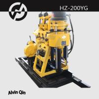 Wholesale portable Hydraulic water drilling rig HZ-200YG diamond core drilling rig from china suppliers