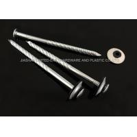 Wholesale Electro Galvanized Roofing Nails Combined Washer Corrosion Resistant Needle Point from china suppliers