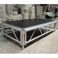 4*8 Feet Assembly Outdoor Used Portable Anti slip Aluminum and Wooden Wedding Stage Platform
