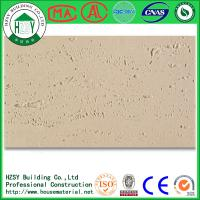 Buy cheap HZSY 1200*600MM Customized Lightweight / Fireproof Wall Tiles With Flexible Clay Material from wholesalers