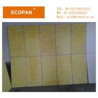 Wholesale Golden / Bule Fiberglass Wall Panels Eco-friendly For Hotels Decoration from china suppliers