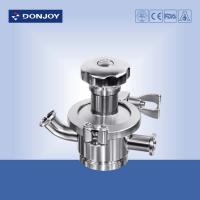 Wholesale Manual Tank Bottom Sanitary Diaphragm Valve  for fluid control from china suppliers