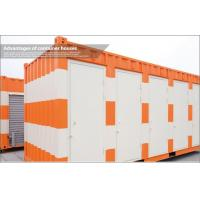 Wholesale Colorful Living Shipping Container Housing , 20 Foot Container Buildings for Office from china suppliers