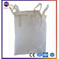 Plastic Jumbo White Pp Bulk Bag Recycled For Rice / Flour / Sugar