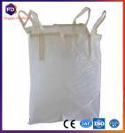 Plastic Jumbo White Pp Bulk Bag Recycled For Rice / Flour / Sugar