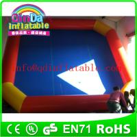 Wholesale QinDa large Inflatable Swimming Pool,Inflatable Water Pool,Inflatable Pool from china suppliers