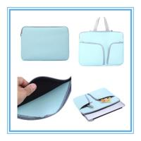 Wholesale Portable Smart Pad Notebook Sleeve Bag Neoprene 13 Inch Laptop Sleeve With Pocket from china suppliers