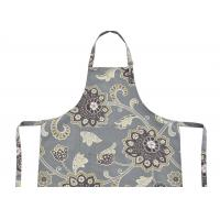 Wholesale Polycotton Canvas Bib Type Cotton Kitchen Apron With Front Pocket , Cotton Bib Aprons from china suppliers