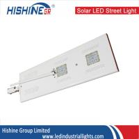 Wholesale White Solar LED Street Light Motion Sensor , 40W Solar Powered Street Lights from china suppliers