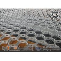 Wholesale 20X2.0X50mm Galvanised Steel  Hexmesh With Bonding Hole | China Exporter from china suppliers