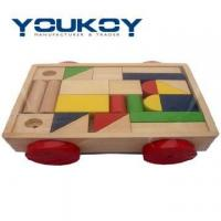 Quality Wooden Block Baby Walker Toys(JM1079) for sale