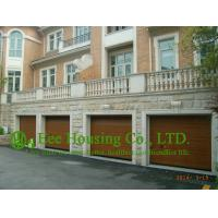 Wholesale Remote-controlled Galvanized steel Sectional  Garage door For Apartment /Villas,Wood color from china suppliers