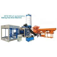 Wholesale QT9-15 New Semi-closed Feeding Funnel Cement Brick Machine Brick Making Machine from china suppliers