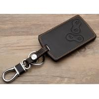 Wholesale Renault car accessories , Leather Key Bag with Chromed Metal Hook from china suppliers