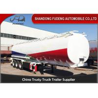 Wholesale Tri-Axles Fuel Tanker Semi Trailers 6 compartments crude oil tanker trailers from china suppliers