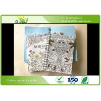Wholesale Children Spiral Bound Notebook With Monochrome Picture 70gsm Recycled Paper from china suppliers