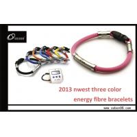 Wholesale Yellow / Red / Blue Sports Band Power Balance Silicone Bracelet from china suppliers