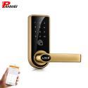 Mechanical Pin Code Door Lock Zinc Alloy For Wooden Iron Door Black Silver for sale