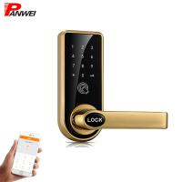 China Mini Waterproof Pin Code Apartment Door Lock In High Grade Mechanical Keypad for sale