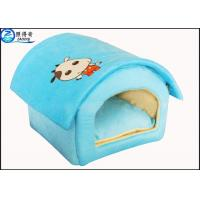 Wholesale Custom Multi Color Lovely Pet House Dog Houses Or Cat Houses Blue Orange Red Pink from china suppliers