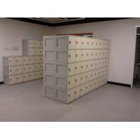 Wholesale Keyless 5 Tier Beige Plastic School Lockers Corrosion Proof / Highly Water Resistant from china suppliers