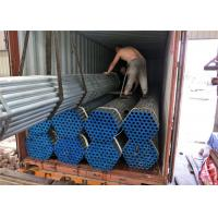 Wholesale Gi Size 8 Seamless Steel Pipe , Round Seamless Carbon Steel Pipe With Cap from china suppliers
