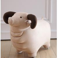 Wholesale Plush Soft Sheep Cute Toy Baby Rocking Animals Chair with pulley for Kids / child as gift wholesale from china suppliers