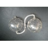 Wholesale Transparent Light Cover Plastic Injection Parts With PC Material Mirror Polishing Surface from china suppliers