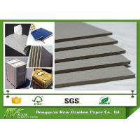 Wholesale Desk Calendar / Arch file Recycled Gray Chip Board , Grey Board Sheets from china suppliers