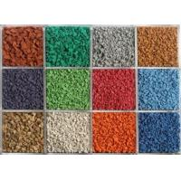 Quality A++ EPDM multicolor granule/customized design for sale