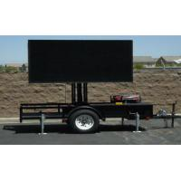 Wholesale 1 / 4 Scan SMD P10 Tow Mobile Truck LED Display Outdoor High Definition from china suppliers