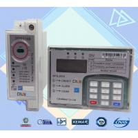 Wholesale Split Type STS Single Phase Electric Meter , Plc G3 Rf  Din Rail Power Meter from china suppliers