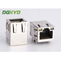 Wholesale RJ45 Connector 100 megabit Cat 5 ethernet modular jack with internal magnetics from china suppliers
