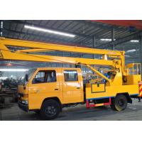 Wholesale 2t operating capacity truck mounted lift Durable Working Basket from china suppliers