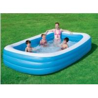 Wholesale 0.35 MM Thickness Inflatable Swimming Pools , inflatable rectangular pool from china suppliers